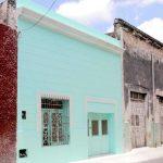 Una fachada del Centro Histórico recién restaurada