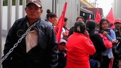 Ignora la CNDH a un padre yucateco en huelga de hambre en el D.F.