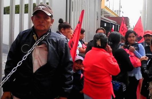 Marco Antonio Castillo Castillo, en huelga de hambre ante la CNDH