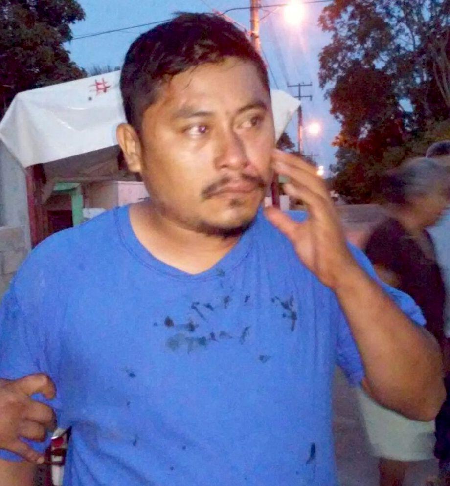 Melchor Flores Ake, sorprendido robando en una vivienda en Peto