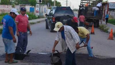 Arrancan los trabajos de bacheo en Valladolid