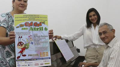 """Atril 6 presenta """"Es Cri Cri"""" a beneficio de """"Kerigma"""""""