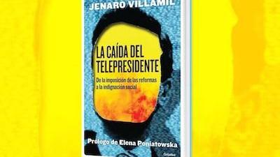 Presentan en Mérida el libro La caída del telepresidente