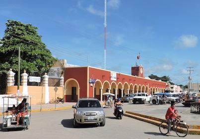 Foto Bernardo Caamal / Palacio municipal de Peto