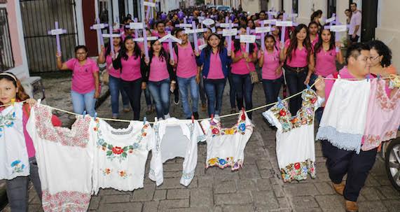 Rechazo a la violencia en Valladolid