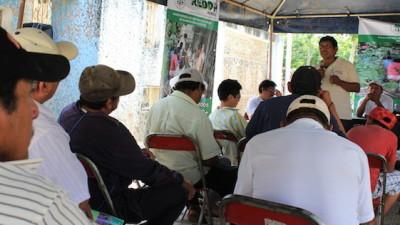 Con plegarias y acciones, mayas se alistan a contrarrestar efectos del cambio climático