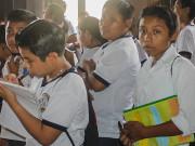 Jóvenes mayas conocen el patrimonio histórico de Yucatán