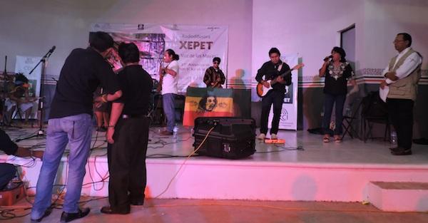 Un evento cultural en Xepet