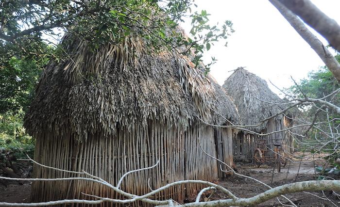Foto Bernardo Caamal Itzá / Una vivienda en el sur de Yucatán. Dormir ahí en tiempo debe ser muy duro.