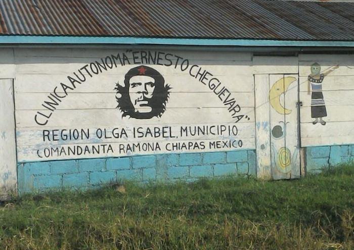 Fotografía Luis Peniche / Escuela en el municipio autónomo Comandanta Ramona