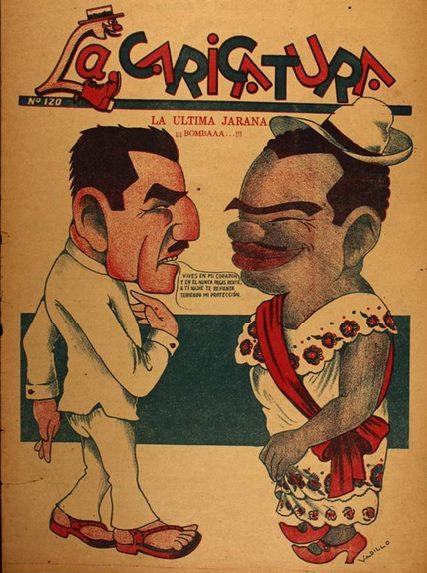 Portada de 1933 del número 120 de La Caricatura