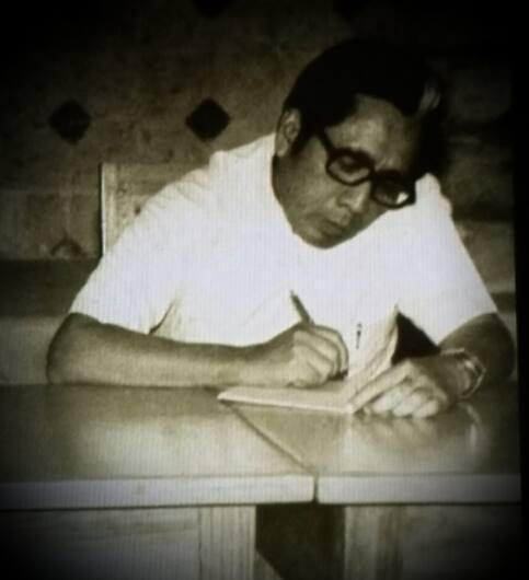 Fidelio Quintal Martín en 1983. Biblioteca Yucatanense, Archivo del Diario del Sureste