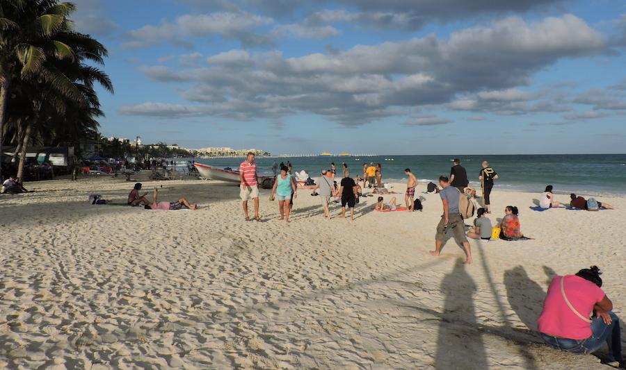 Foto Bernardo Caamal Itzá / Playas del Caribe