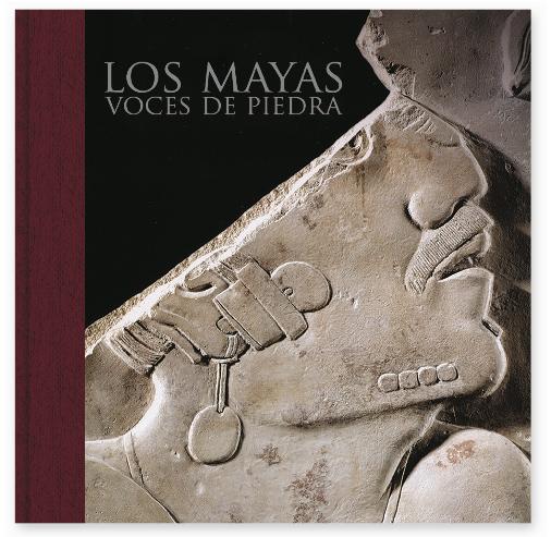 Portada del libro Los mayas, voces de piedra
