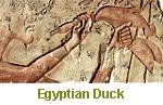 El faraón Akenatón sacrifica un pato, 1353-1336 a.C.