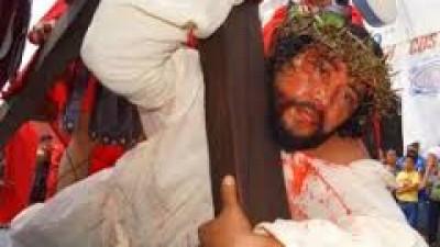 Vía crucis vivientes en Yucatán, cuando la religión también es espectáculo
