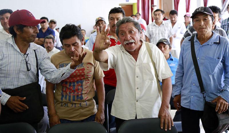 Fuerte oposición a continuar el proceso sin los representantes de las 34 comunidades de Hipelchén