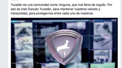 """Para la seguridad en Yucatán, un """"escudo cultural"""", no policiaco"""