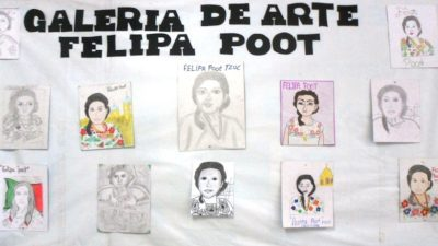 Cumple 40 años una secundaria de Kinchil en honor a la heroína maya Felipa Poot