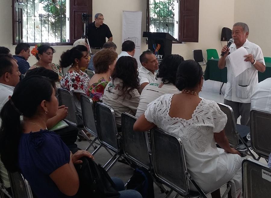 Waldemar Noh Tzec este lunes en Bellas Artes, Mérida