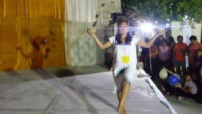 La joven Concepción Chimal es elegida Señorita Parroquia en Dzitás