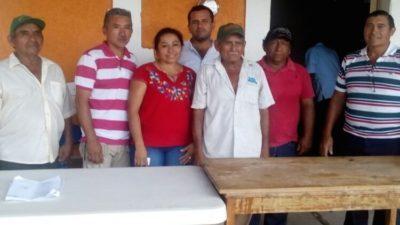 """""""La gente conoce mi labor"""", dice la comisaría ejidal de Chocholá"""