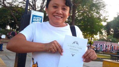 La escritora de Sotuta Marga Aguilar presentará su poemario inédito en la Filey