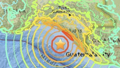 Sismo histórico, de 8.4, en México