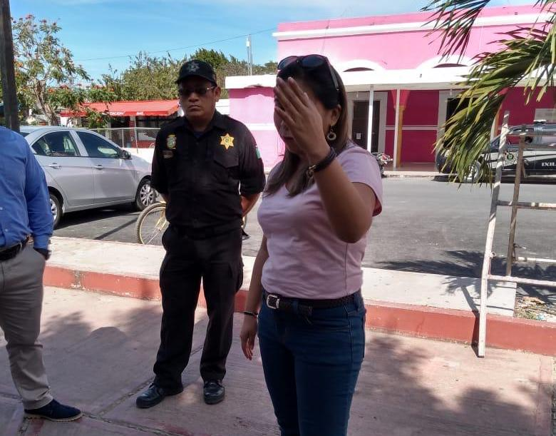 Jénifer Chuc, presunta funcionaria del Gobierno de Yucatán