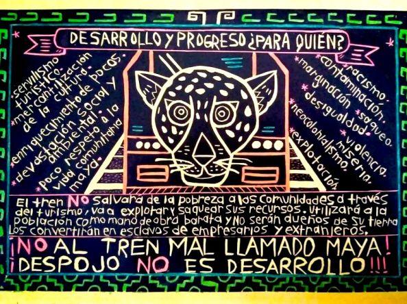 """Cinco infracciones que deslegitiman al """"tren maya"""": carta a ONU-Habitat desde Yucatán"""