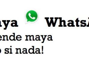 "Aprende ""como si nada"" la lengua maya con MayaWhatsApp Plus"