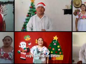 Brillan villancicos traducidos a la lengua maya